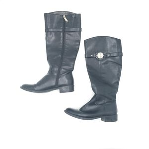 Tommy Hilfiger Womens Black Boots 7